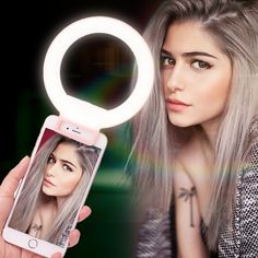 Hot Price Ulanzi ISF LED Selfie Ring Light Supplement Brightness Beautify Photography Video Light Universial Clip-on for iphone X 7 Xiaomi . Video Lighting, Photo Lighting, Video Photography, Light Photography, Led Selfie Ring Light, Ring Lamp, Phone Lens, Light Clips, Light Ring