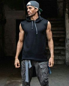 Graffiti Pete: He is a wannabe gangster so muscle tees, shorts, hat, jacket tied around