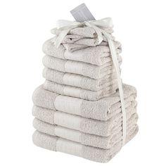 TORONTO HAND TOWEL 10pc Children's Home & Furniture Family Towel Bale Set Bath Sheet Bathroom Accessories