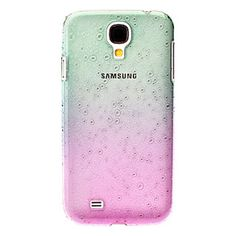 Raindrop shaded green to pink hard case for samsung s4 (free shipping!)