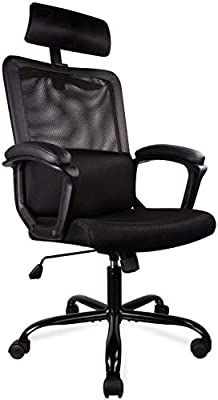 Mid-Back Breathable Mesh Office Desk Computer Desk Chair with Lumbar Support Smugdesk Office Chair