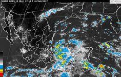 Hoy, se pronostican tormentas intensas en regiones de Veracruz y Oaxaca; tormentas muy fuertes en Michoacán, Guerrero, Chiapas, Puebla y Tabasco, así como tormentas locales fuertes en Nayarit, Jalisco, Colima, ...