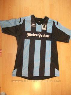 1860 Munich II Fora camisa de futebol 2008 - 2009