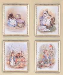 Peter Rabbit framed print sets