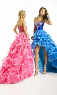 high low prom dress