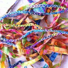 Headbands in the making... #headbands #hair #crochet etsy