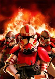 Star Wars Shock Troopers by *rhymesyndicate on deviantART