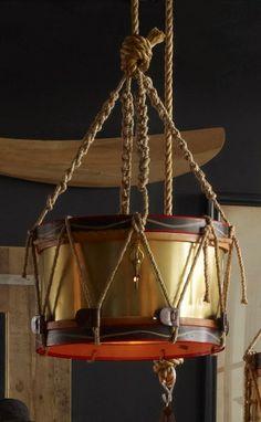 Timothy Oulton || Drum Chandelier  www.timothyoulton.com/usa/en/products/categories/lighting/pendant/drum-chandelier.html