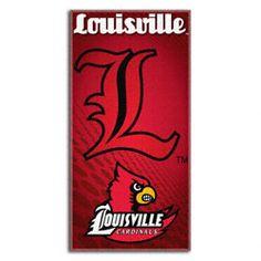 Louisville Cardinals 30x60 Fiber Reactive Beach Towel $21.99 http://shop.uoflsports.com/Louisville-Cardinals-30x60-Fiber-Reactive-Beach-Towel-_-1499938235_PD.html?social=pinterest_pfid23-36907