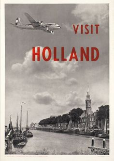 Holland - KLM - repin by www.piggybee.com - Worldwide free collaborative shipping eco-friendly network
