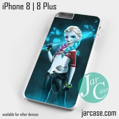 Princess Elsa With Harley Quinn Dress Y Phone case for iPhone 8 | 8 Plus