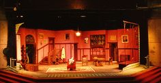 Theatre Set - Arsenic and Old Lace by Joseph Kesselring