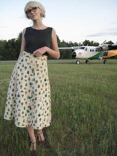 Hot Air Balloon Skirt by thirteeneightyfive, via Flickr