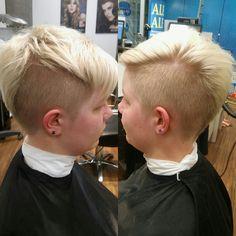Shorthair ,barber , blond , shorthairatyle , rockhair
