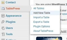 How to Create and Manage Tables in WordPress with TablePress Plugin
