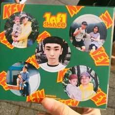Kibum pogs for SHINee's 1of1 album