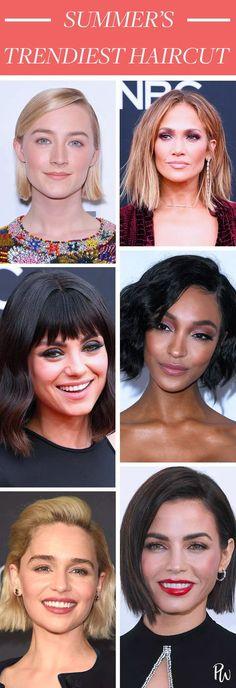 *This* Is Summer's Trendiest Haircut #purewow #haircare #hair #tip #trends #beauty #summerhair #haircuts #lob #bob #shorthair #longbob #hairinspiration #haircuts #haircolor #brownhair #blondehair #haircutideas #haircolorideas