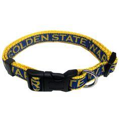 2ffb8ea2d Golden State Warriors Dog Collar. Puppy CollarsLarge DogsBig ...
