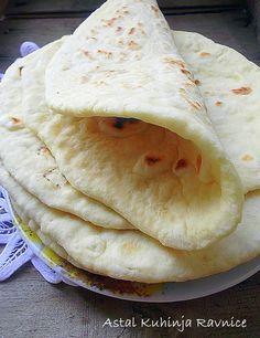 Pita Recipes, Bread Recipes, Cookie Recipes, Chicken Recipes, Dessert Recipes, Desserts, Kiflice Recipe, Bread Dough Recipe, Kolaci I Torte