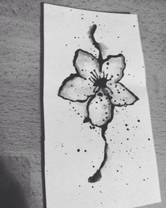 #Flower #Abstract #Drawing