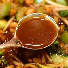 All-Purpose Stir-Fry Sauce (Brown Garlic Sauce) @keyingredient #chicken  Classic favorite recipe for Brown Garlic Stir-Fry Sauce. Adapted from Martin Yan's Chinese Cooking for Dummies.   #HealthyEating #sauces Sherman Financial Group