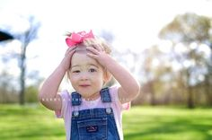 Look at this playful cutie! Miss P. had fun playing during her portrait session.