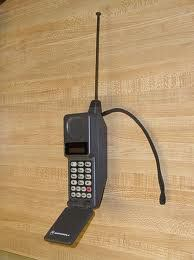 My first cell phone......all 25lbs of it!