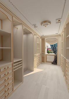 Boutique-style closet