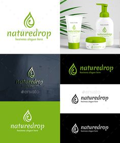 Nature Drop Logo Template – Organic Green Drop Logo – Simple, Clean and professional logo design. This Premium, Classy and Elegant Logo is ideal for Eco Shop, Natural Products, Nature theme business projects, Beauty Salon, Spa, cosmetic, eco brands, or any other classy business and product names, y