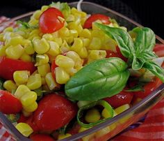 Fresh Tomato & Corn Salad