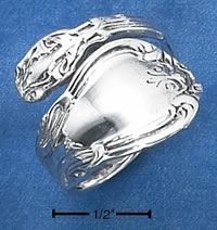 Sterling Silver Spoon Ring.  Loved them then and love them now.  It 's currently one of my favorite pieces of jewelry