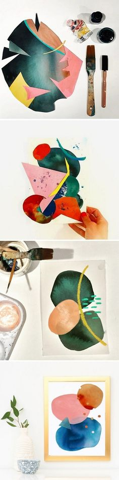 Collages by Keren Toledano / on the Blog!