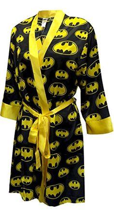 BatGirl Satin Robe
