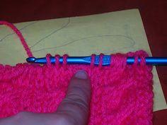 How to do #tunisian #crochet #cables