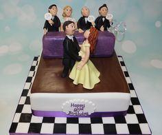 Strictly Come Dancing style cake