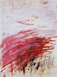 PAN (Part III), 1980 par Cy Twombly (1928-2011)