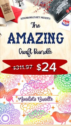 The Amazing Craft Bundle VI - 6 fonts and 44 svg sets at off for a limited time! Cricut Craft Room, Cricut Vinyl, Vinyl Projects, Craft Projects, Fun Crafts, Paper Crafts, Diy Leather Bracelet, Cricut Tutorials, Silhouette Cameo Projects