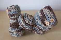 crochet baby boots, baby boy clothes