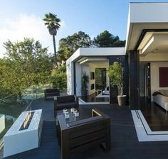 Modern home. ....
