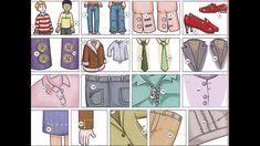 Clothing problems and alterations video English lesson
