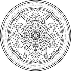 real alchemy transmutation circles - Google Search