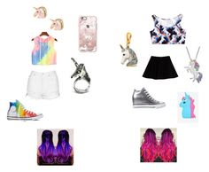 """""""Unicorn Fever"""" by livipop24 on Polyvore featuring Topshop, Max&Co., Casetify, Converse, Artistique and Juicy Couture"""