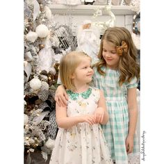 "@thepinkpoppyshop - ""❄️✨❄️✨❄️ #thepinkpoppyshop #sisters #coordination #coordinating #dress #christmas #winterfawnfabric #hawthornethreads #girlsclothes #sewingforgirls…"""