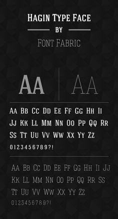 Hagin Free Font 01