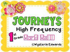 https://www.teacherspayteachers.com/Product/Journeys-High-Frequency-Words-First-Grade-2609190