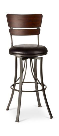 Santa Monica Swivel Stool   HOM Furniture   Furniture Stores In Minneapolis  Minnesota U0026 Midwest