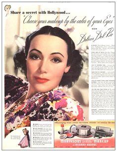 Dolores Del Rio for Richard Hudnut Cosmetics    1937