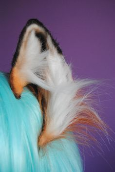 red fox ears by woodlandcreatureshop on Etsy, $34.00