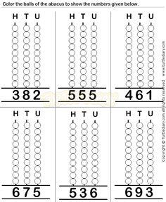 Abacus9 - math Worksheets - preschool Worksheets