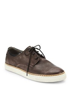 Diesel - Leather Lace-Up Sneakers
